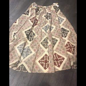 NWT Ralph Lauren Boho skirt